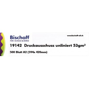 Druckausschuss A2 unliniert   Bischoff AG